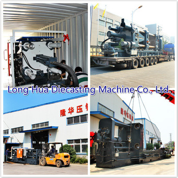 300t High Pressure Machine Industrial Metal Melting Furnace